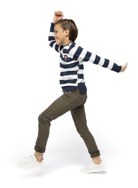kindersweater donkerblauw 98/104 - 30770731 - HEMA