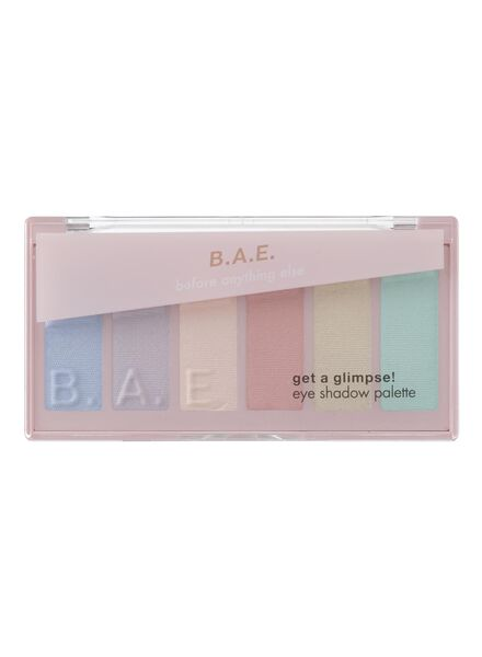 B.A.E. eye shadow palette 03 get a glimpse - 17700034 - HEMA