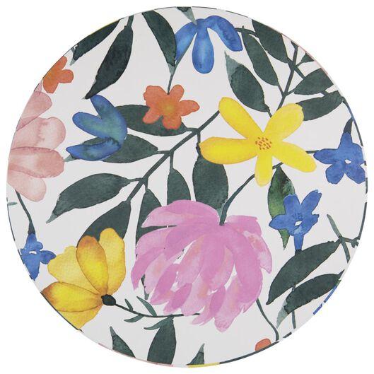 cadeaudoos Ø22.5x15 karton bloemen - 14700474 - HEMA