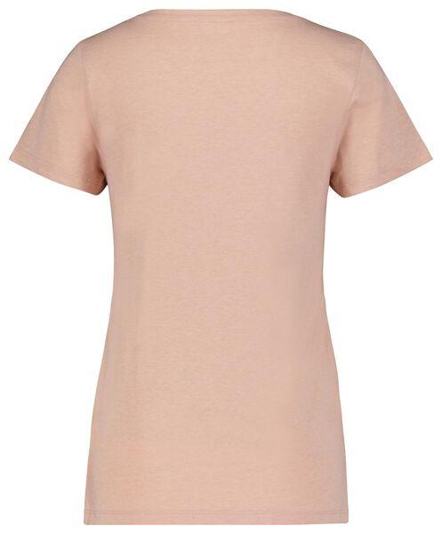 dames shortama kiwi roze L - 23400593 - HEMA