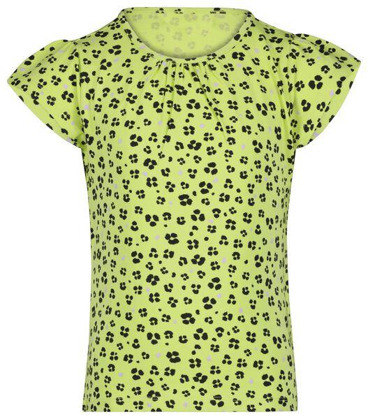 kinder t-shirt animal geel 122/128 - 30865846 - HEMA