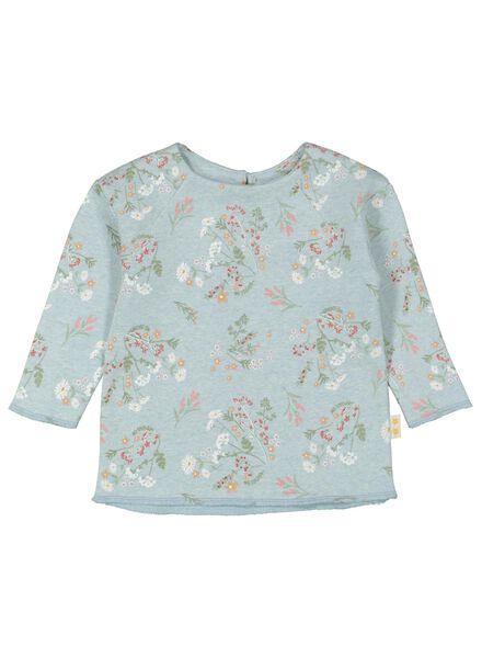 babysweater lichtgroen lichtgroen - 1000016901 - HEMA
