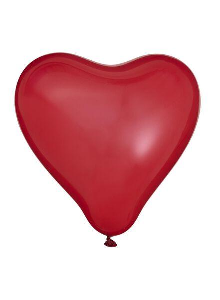 8-pak hart ballonnen - 14230172 - HEMA