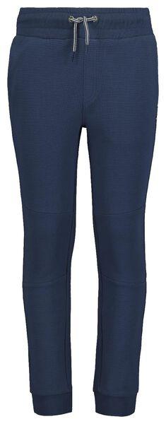 kinder sweatbroek blauw 122/128 - 30759253 - HEMA