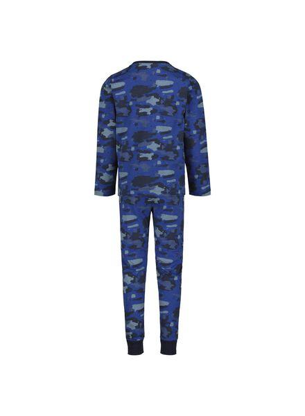 kinderpyjama blauw blauw - 1000014965 - HEMA