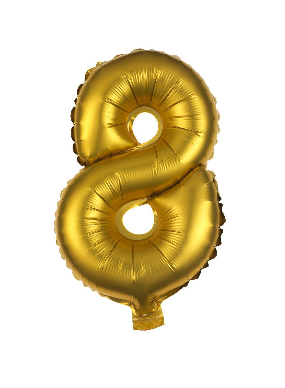 HEMA Folie Ballon 8 (goud)