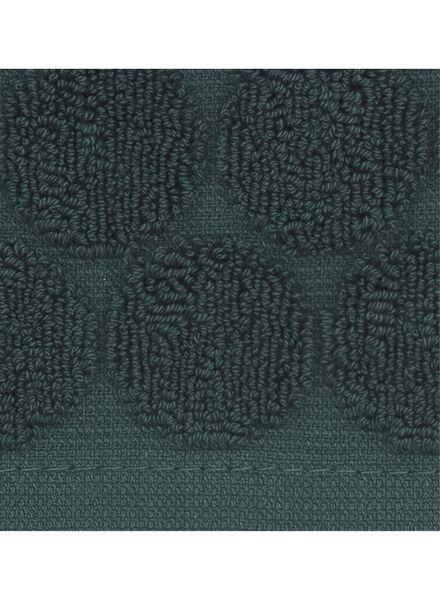 washand - zware kwaliteit - donkergroen stip - 5220011 - HEMA