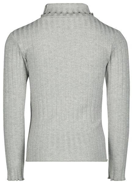 kinder coltrui grijsmelange grijsmelange - 1000021865 - HEMA