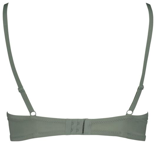 padded t-shirt bh micro extra soft groen groen - 1000018705 - HEMA