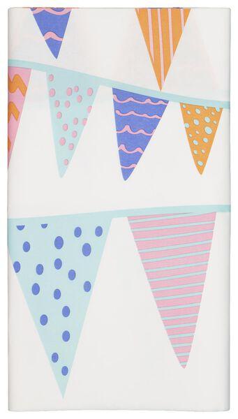 tafelkleed - 138 x 220 - papier - vlaggen - 14230180 - HEMA