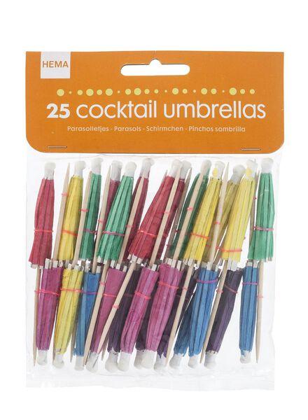 25-pak cocktailprikkers - 14200060 - HEMA