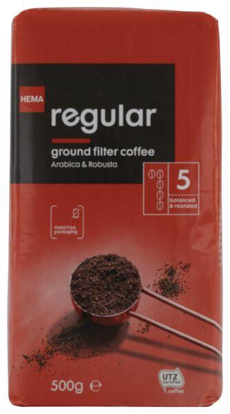filterkoffie regular - 500 gram - 17170001 - HEMA