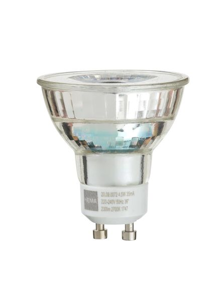 LED spots 4.5 watt - GU10 fitting - 230 lumen - 20090072 - HEMA