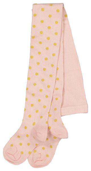 kindermaillot stippen roze 122/128 - 4396564 - HEMA