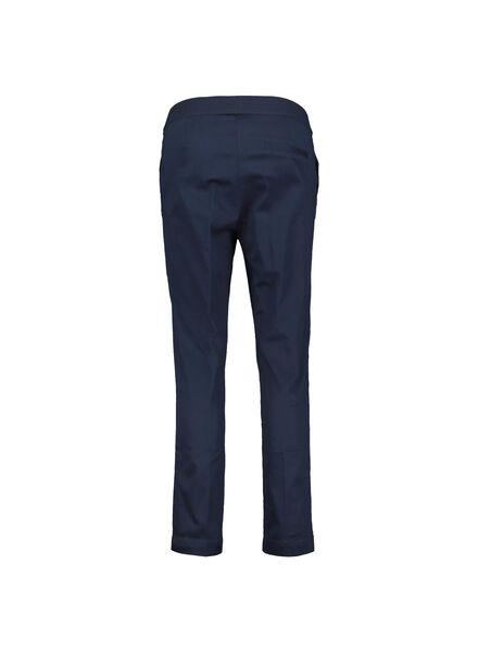 damesbroek donkerblauw donkerblauw - 1000015113 - HEMA
