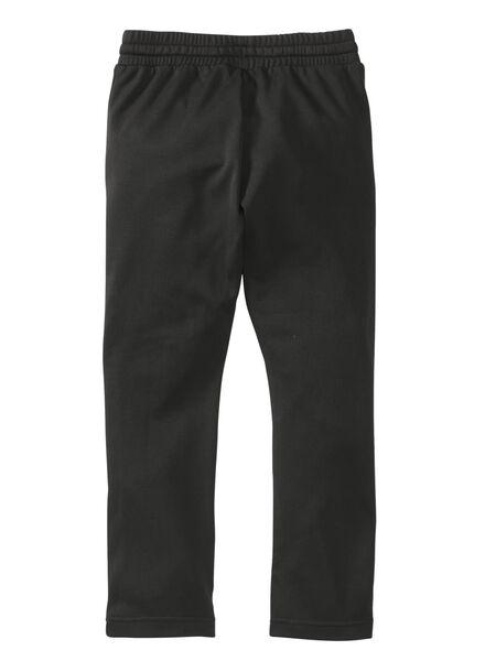 kinder sportbroek zwart zwart - 1000008336 - HEMA