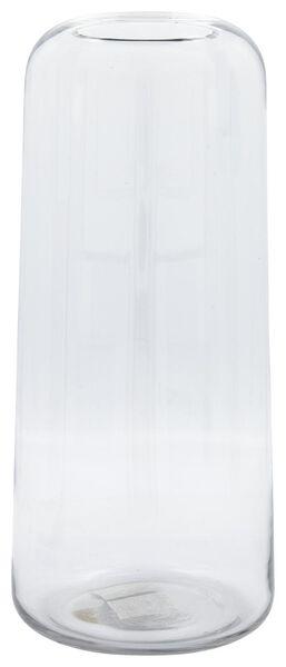 vaas Ø17x38 recycled glas - 13311069 - HEMA