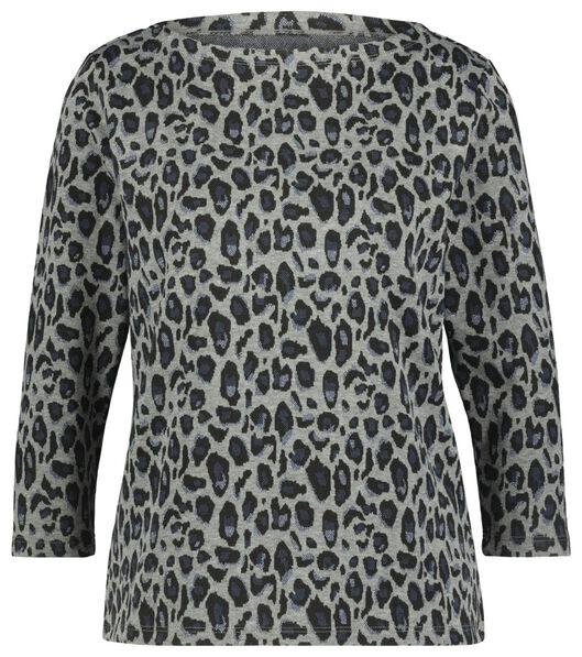 dames t-shirt grijs grijs - 1000022100 - HEMA