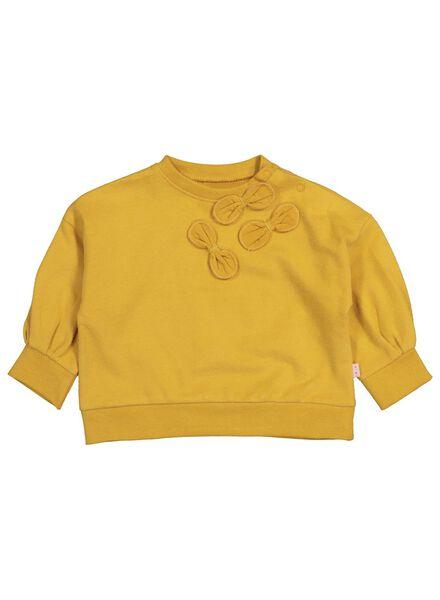 babysweater geel geel - 1000015723 - HEMA