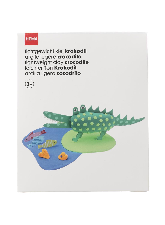 HEMA Lichtgewicht Klei Krokodil
