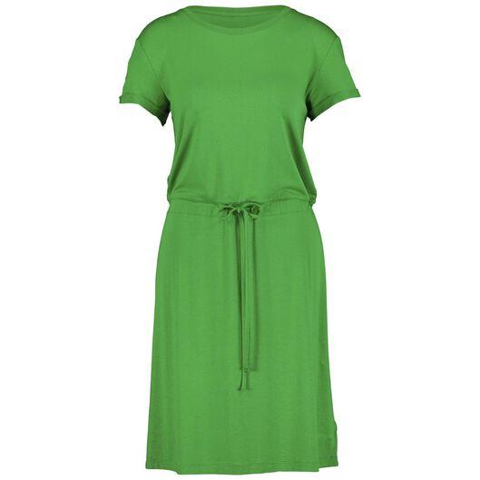 damesjurk groen groen - 1000013900 - HEMA