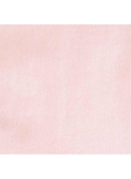 2-pak kinderhemden lichtroze lichtroze - 1000001546 - HEMA