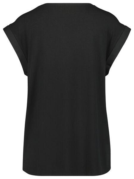 dames top zwart S - 36324081 - HEMA