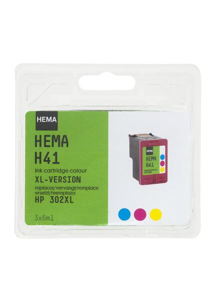 H41 vervangt de HP 302XL - 38320002 - HEMA