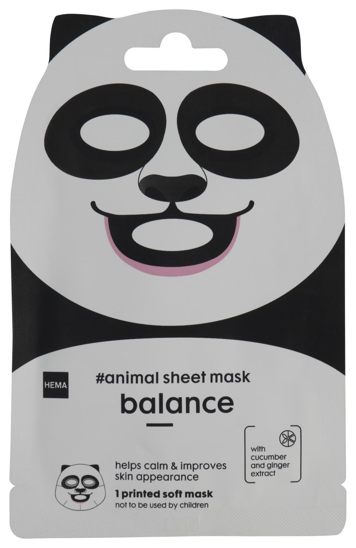 HEMA Dieren Sheetmask Panda 15ml