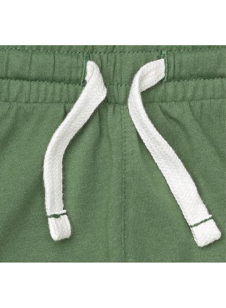 2-pak kindershorts groen groen - 1000007810 - HEMA