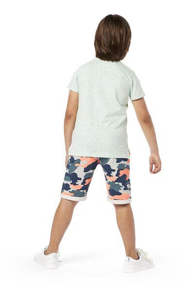 kinder t-shirt blauw blauw - 1000019148 - HEMA