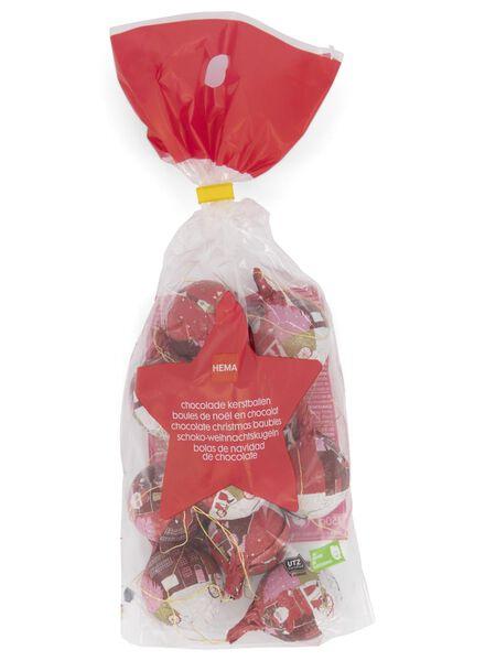 chocolade kerstballen - 10 stuks - 10040226 - HEMA