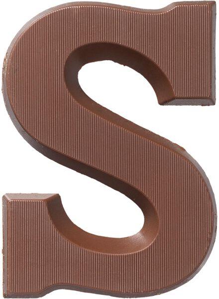 chocoladeletters - 160 gram melk melk - 1000016872 - HEMA