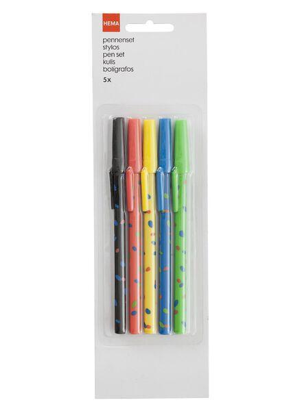 5-pak pennen - 14540516 - HEMA