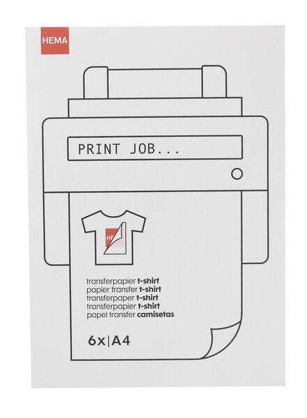 t-shirt transferpapier - 38340082 - HEMA