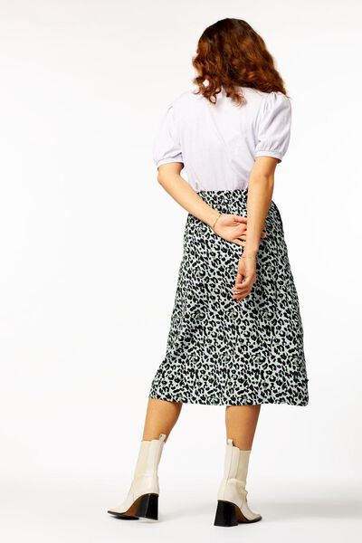 dames t-shirt pofmouw lila S - 36232251 - HEMA