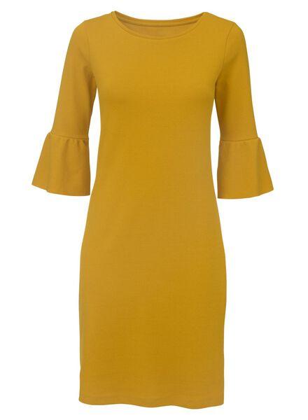damesjurk geel geel - 1000007743 - HEMA