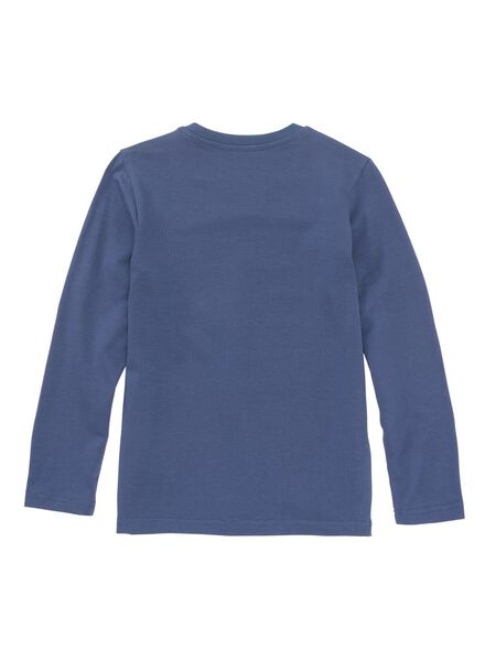 glow in the dark kinderpyjama blauw blauw - 1000009223 - HEMA