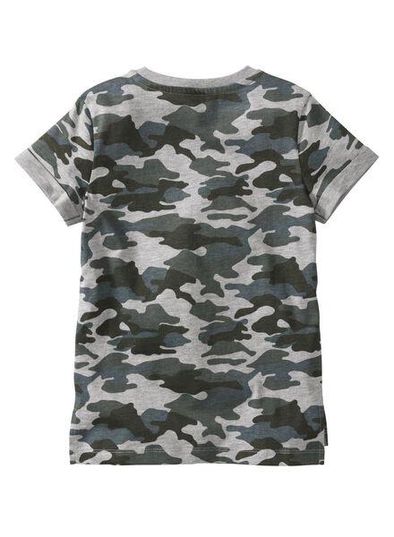 kinder t-shirt grijsmelange grijsmelange - 1000003753 - HEMA