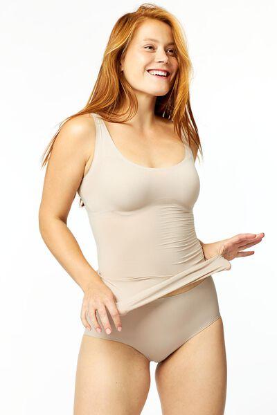 corrigerende damesslip second skin beige beige - 1000011247 - HEMA