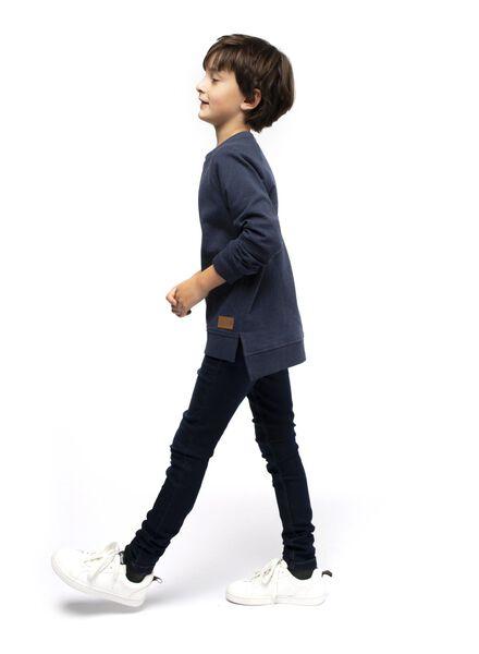 kindersweater blauw blauw - 1000017263 - HEMA