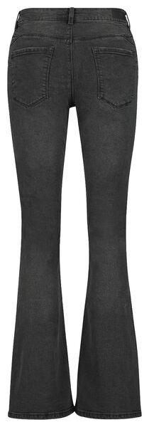 dames jeans bootcut shaping fit zwart 40 - 36347493 - HEMA