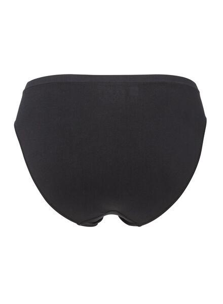 damesslip naadloos zwart zwart - 1000002207 - HEMA