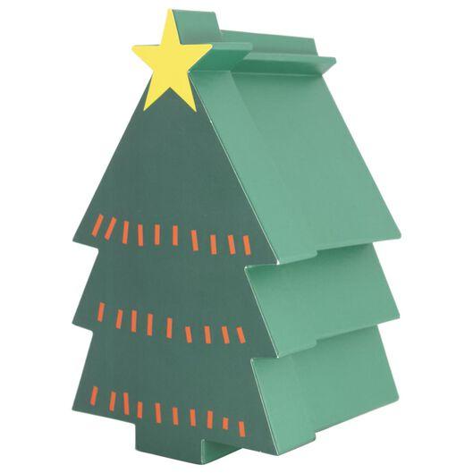 cadeaudoos 27.5x16.5x15 kerstboom - 25700162 - HEMA