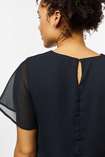 dames top zwart zwart - 1000023362 - HEMA