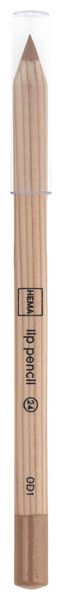 lip pencil lichtbruin - 11230124 - HEMA