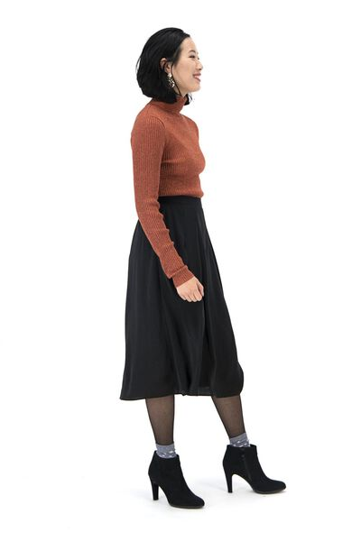 damesrok zwart zwart - 1000017192 - HEMA