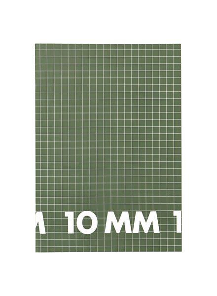 schriften A4 - geruit 10 mm - 3 stuks - 14101622 - HEMA