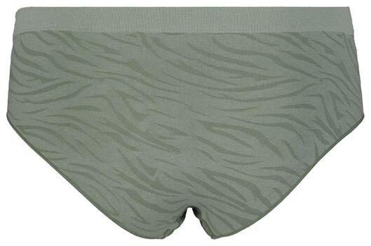 dameshipster naadloos micro groen groen - 1000017961 - HEMA