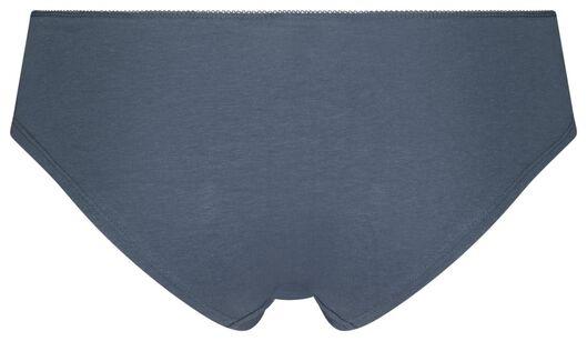 dameshipsters - 3 stuks middenblauw L - 19640893 - HEMA